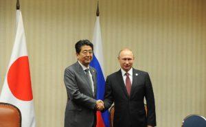 Владимир Путин встретился с премьер-министром Японии Синдзо Абэ. Фото: kremlin.ru