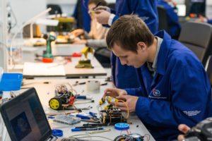 Детский технопарк «Кванториум» в технополисе «Москва». Фото: минобрнауки.рф