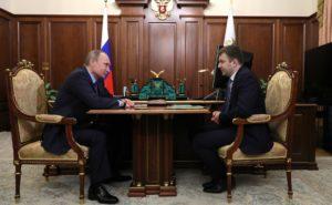 Встреча Владимира Путина с Максимом Орешкиным 30 ноября 2016 года. Фото: kremlin.ru