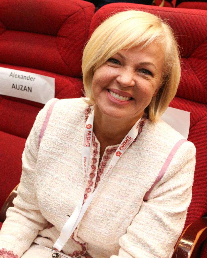 Ирина Макиева, зампред правления Внешэкономбанка. Фото: А. Струнин